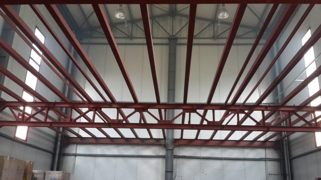 Hürriyet Tütün Mamulleri A.S Çelik arakat, çelik asmakat yapýsý imalat ve montaj iþlerini tamamladýk.